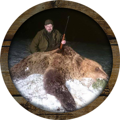 veidemanns reiser wood hunting brown bear 402